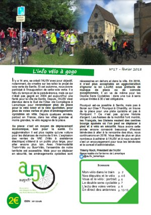 AU5V - Bulletin 17 - couverture